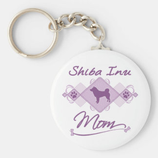 Shiba Inu Mom Keychain