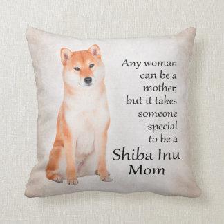 Shiba Inu Mom Pillow