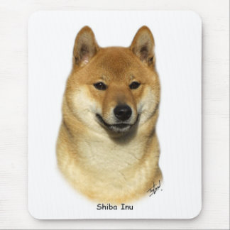 Shiba Inu Mouse Mats