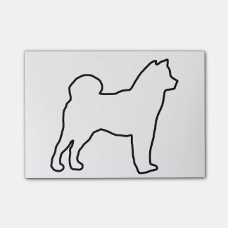 Shiba Inu outline.png Post-it® Notes