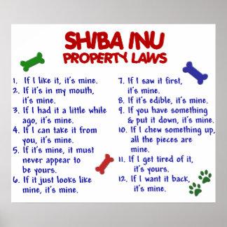 SHIBA INU PL2 POSTER