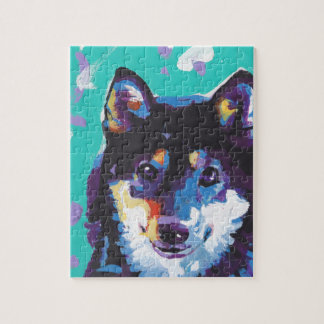 Shiba Inu Pop Art Jigsaw Puzzle