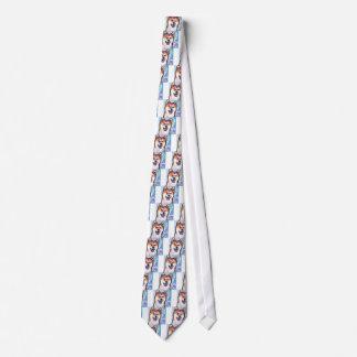 Shiba Inu Pop Art Tie