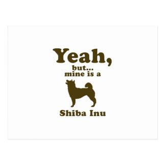 Shiba Inu Postcard
