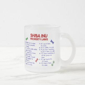 SHIBA INU Property Laws 2 Mugs