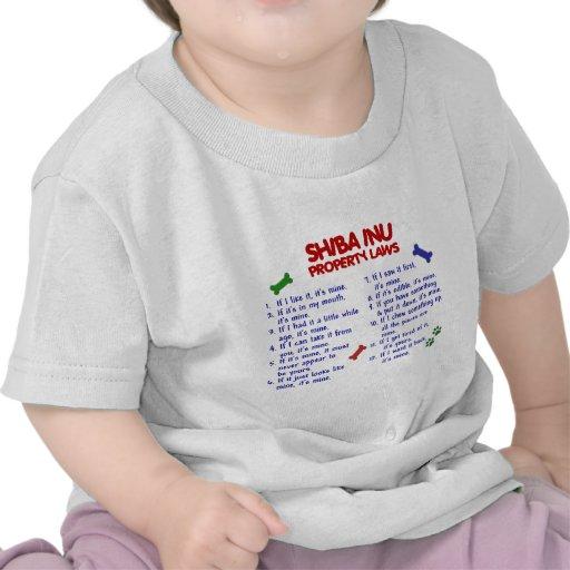 SHIBA INU Property Laws 2 T Shirt