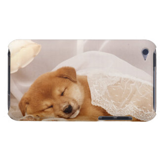 Shiba Inu puppy sleeping under a net curtain Barely There iPod Case