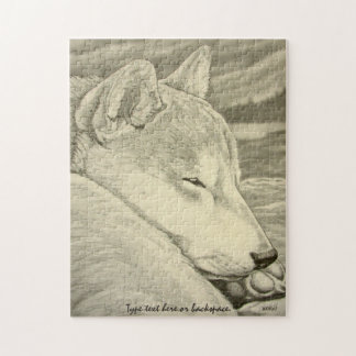 Shiba Inu Puzzle Personalized Shiba Inu Dog Gifts