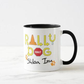 Shiba Inu Rally Dog Mug