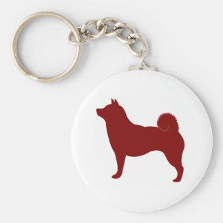 Shiba Inu (Red) Keychain