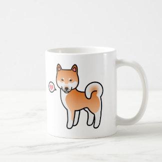 Shiba Inu Red Love Coffee Mug
