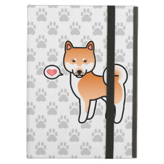 Shiba Inu Red Love iPad Cover