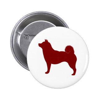 Shiba Inu (Red) Pinback Button