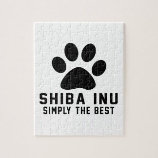 Shiba Inu Simply the best Puzzles