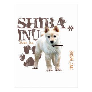 Shiba Inu Tarjeta Postal