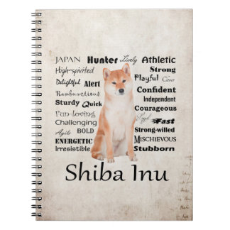 Shiba Inu Traits Notebook