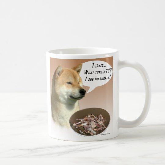Shiba Inu Turkey Coffee Mug