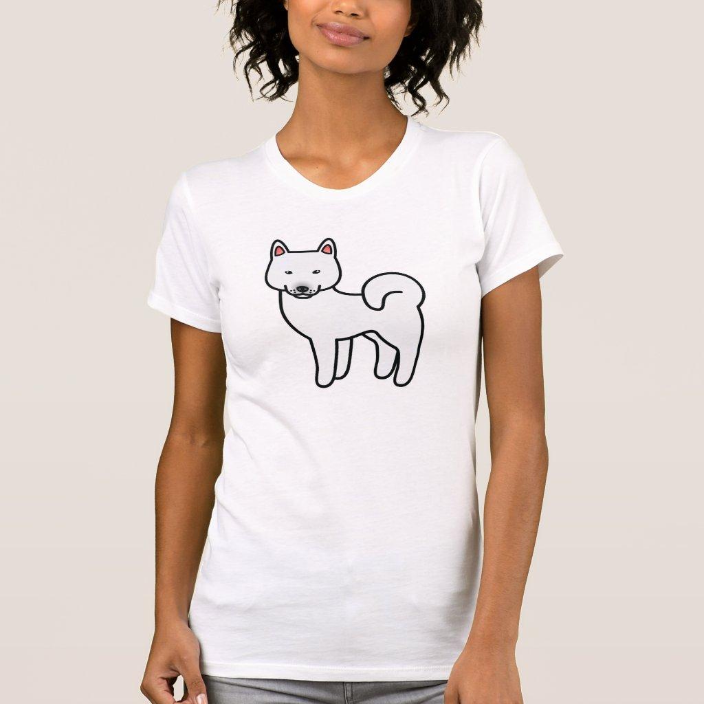 shiba_inu_white_tshirt-reda ...