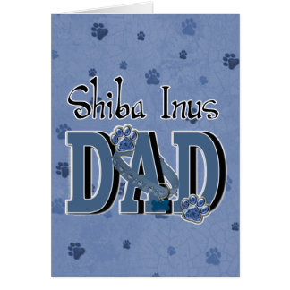 Shiba Inus DAD Card
