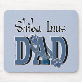 Shiba Inus DAD Mouse Pad