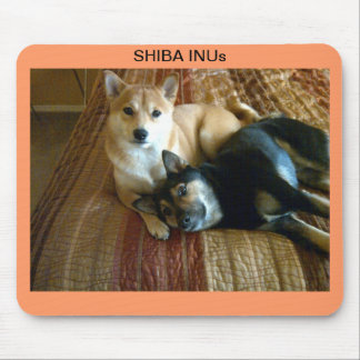 Shiba Inu's Mouse Pad