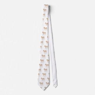 Shiba Japanese Dog Neck Tie