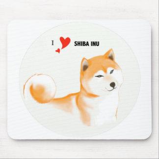Shiba mousepad inu