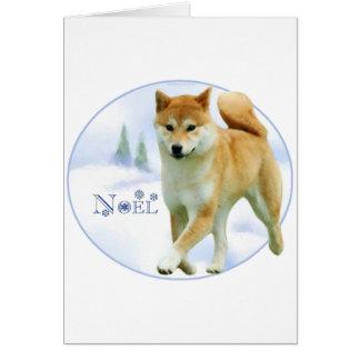Shiba Noel Greeting Cards