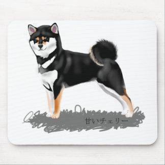 Shiba rug inu mouse pad