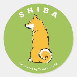 Shiba Sticker