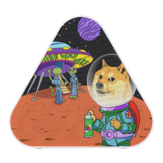 Shibe Doge Astro and the Aliens Memes Cats Cartoon Bluetooth Speaker