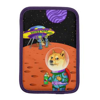 Shibe Doge Astro and the Aliens Memes Cats Cartoon iPad Mini Sleeve