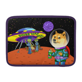 Shibe Doge Astro and the Aliens Memes Cats Cartoon MacBook Air Sleeves
