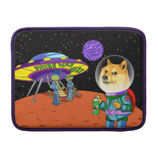 Shibe Doge Astro and the Aliens Memes Cats Cartoon MacBook Sleeves