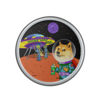 Shibe Doge Astro and the Aliens Memes Cats Cartoon Speaker