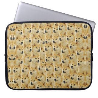 shibe doge fun and funny meme adorable computer sleeve