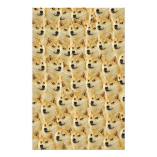 "shibe doge fun and funny meme adorable 5.5"" x 8.5"" flyer"