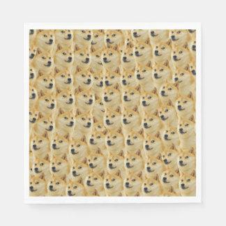 shibe doge fun and funny meme adorable standard luncheon napkin