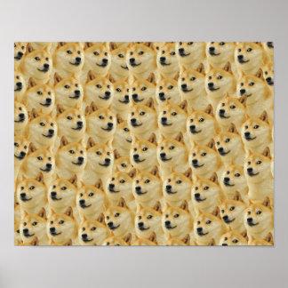 shibe doge fun and funny meme adorable poster