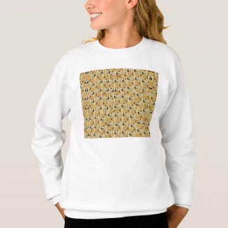 shibe doge fun and funny meme adorable sweatshirt