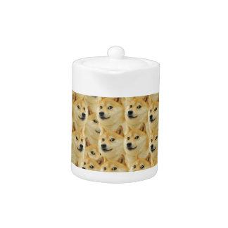 shibe doge fun and funny meme adorable teapot