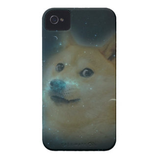 shibe doge in space Case-Mate iPhone 4 cases