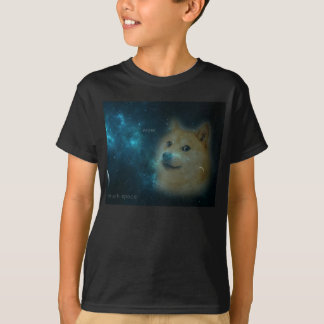 shibe doge in space T-Shirt