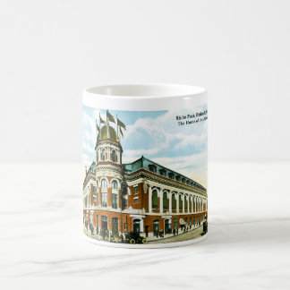 Shibe Park, Philadelphia, PA Vintage Baseball Basic White Mug