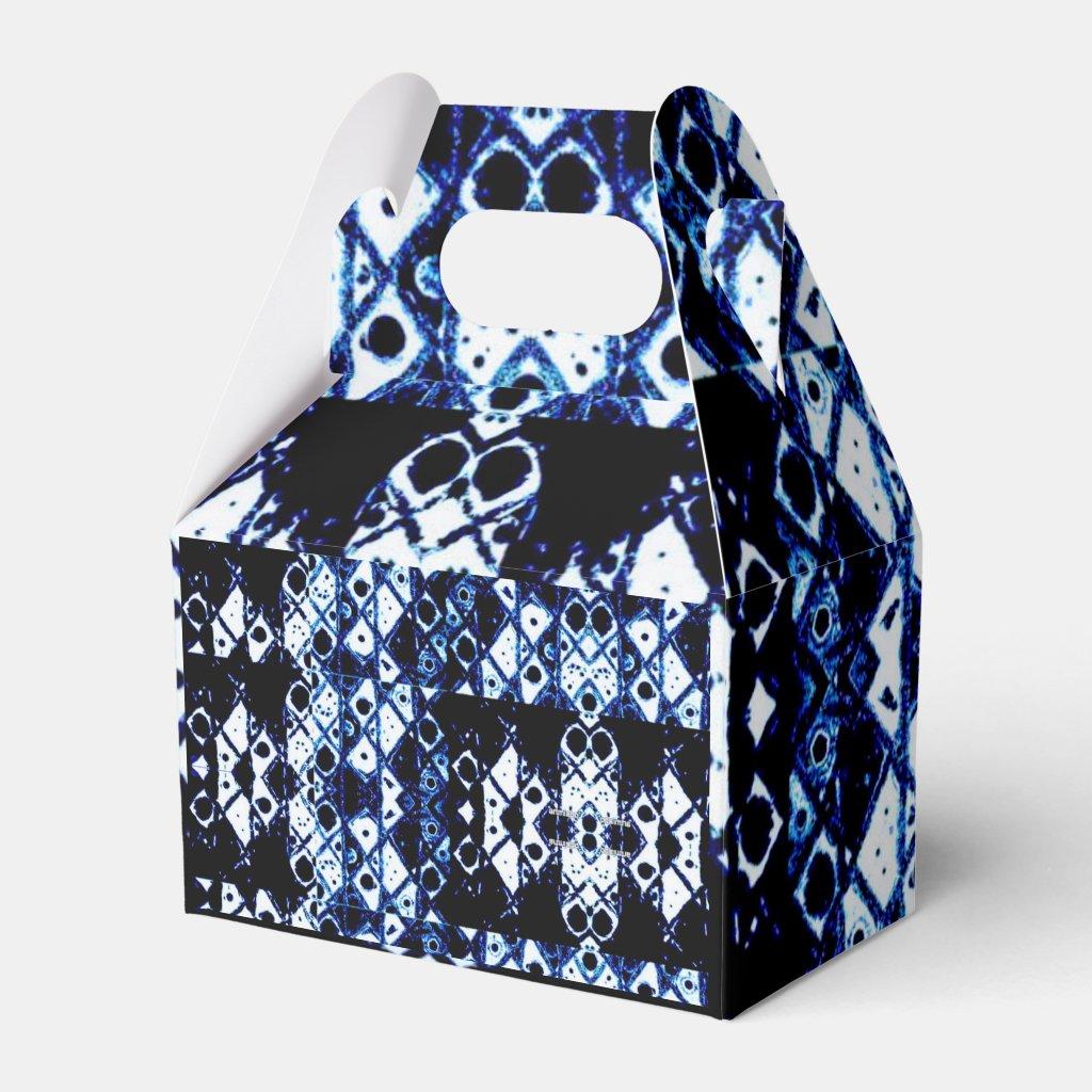 Shibori inspired favor box