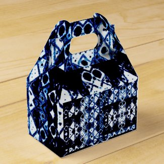 Shibori inspired favor box