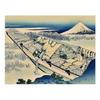 Shibori of Joshu by Katsushika, Hokusai Ukiyoe Postcard