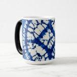 Shibori Tie Dye South Seas Indigo Batik Magic Mug