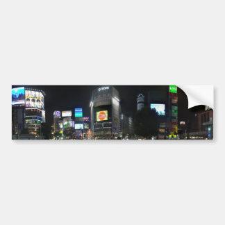 Shibuya 2 etiqueta de parachoque