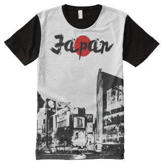 Shibuya Japan All-Over-Print T-Shirt